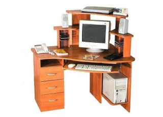 Компьютерный стол КС-12-2Т+КН-3