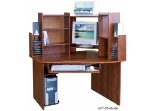 Компьютерный стол КСТ-05+КН-06