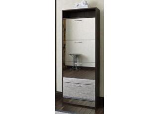 Обувница с зеркалом Премиум Милан-27