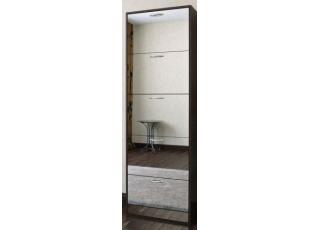 Обувница с зеркалом Премиум Милан-28